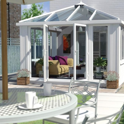 White Loggia conservatory