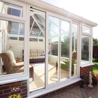 Conservatory patio door